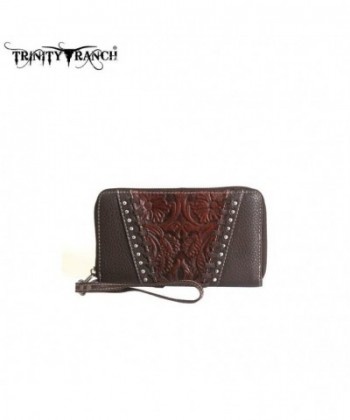 TR12 W003 Montana West Trinity Wallet Coffee