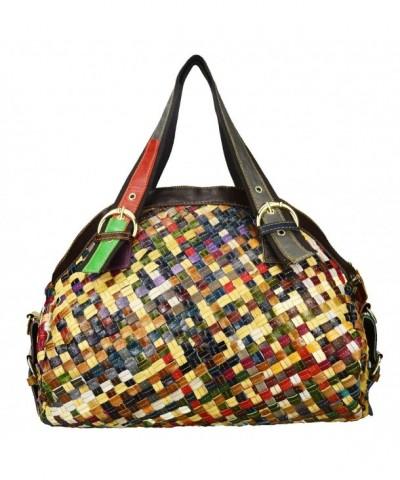 Sibalasi Multicolor Woven Bohemian Patchwork Colorful