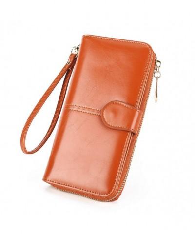 Handbag Blocking Capacity Organizer Wristlet