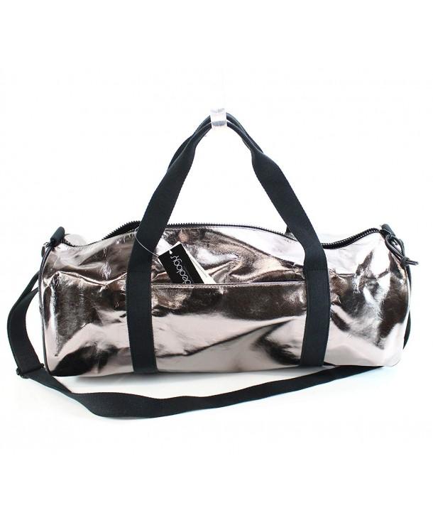 Womens Workout Gym Duffle Bag Silver Medium Cy185idikhn