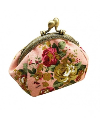 Change Franterd Vintage Flower Wallet