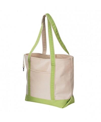 Natural Lime Beach Tote Bag