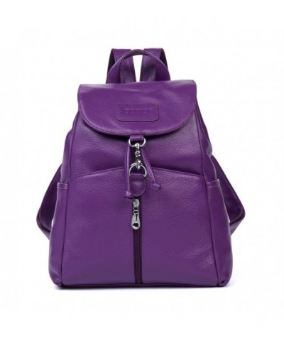 Cluci Leather Backpack Satchel Shoulder
