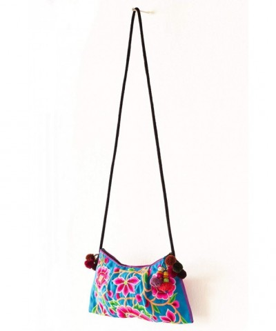 Changnoi Cocoon Embroidered Handmade Crossbody