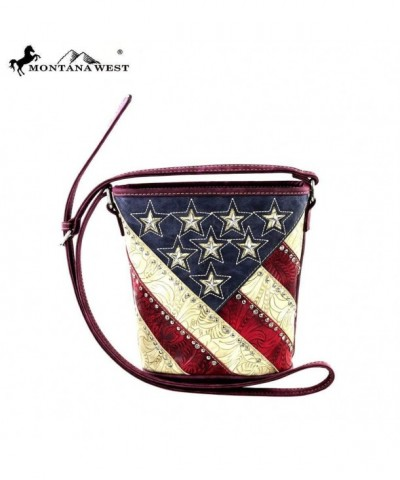 Montana West American Bucket Shaped