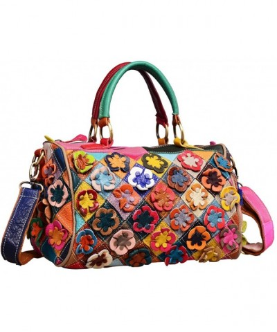 Womens Shoulder Handbags Purses Flower
