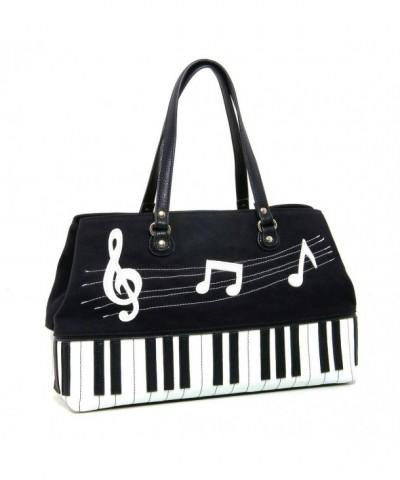 Piano Canvas Leatherette Doctors Satchel