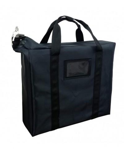Briefcase Style Locking Document Bag