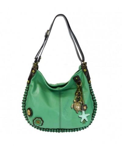 Charming X large Handbags Chala M808 Teal TU1
