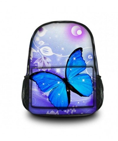 HST Fashion Vintage Backpack Butterfly