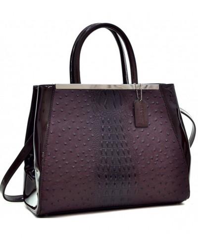 Dasein Handbags Structured Briefcase Shoulder