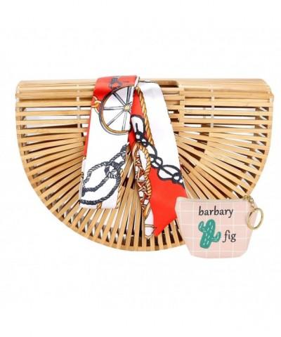 Bamboo Handbag Handmade Handle NBH A01