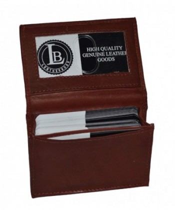 LeatherBoss 0031rr Business Holder Brown