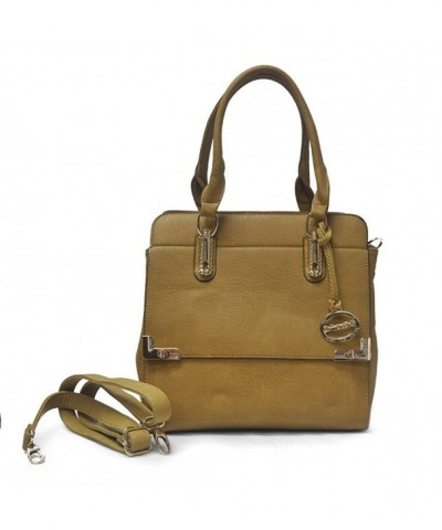 Sorrentino Sori Collection Satchel Camel