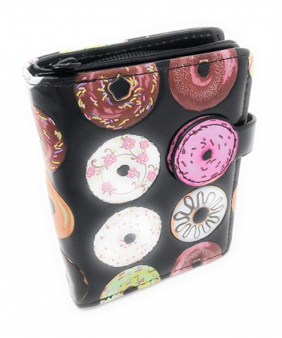 Donut Wallet Women Small Black