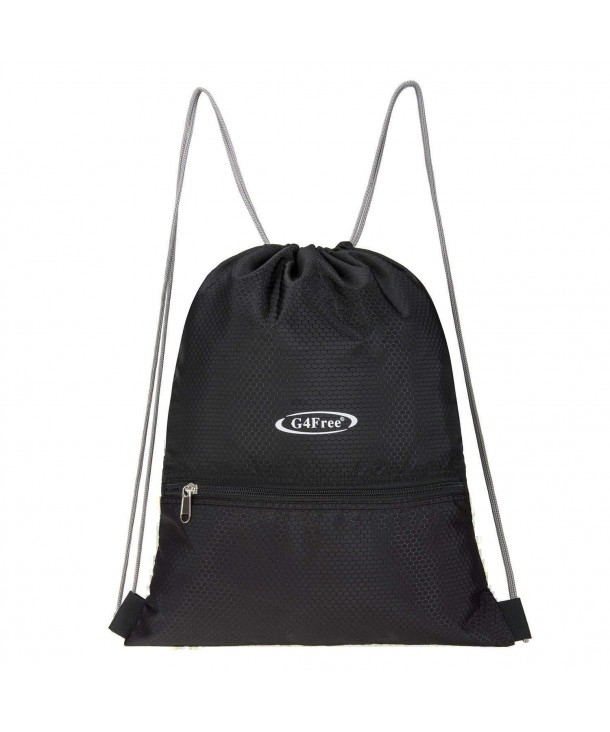 G4Free Repellent Drawstring Backpack Black Black