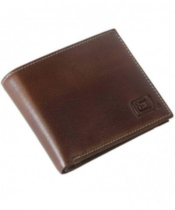 RFID Wallet Bifold Stonewashed Finish