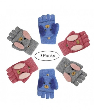 RARITY US Winter Gloves Stripe Mittens