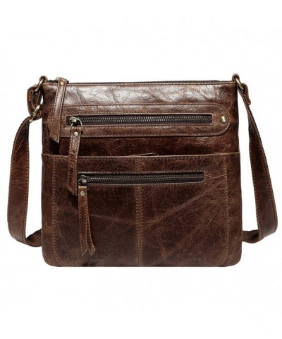 Jair Crossbody Designer Leather Messenger