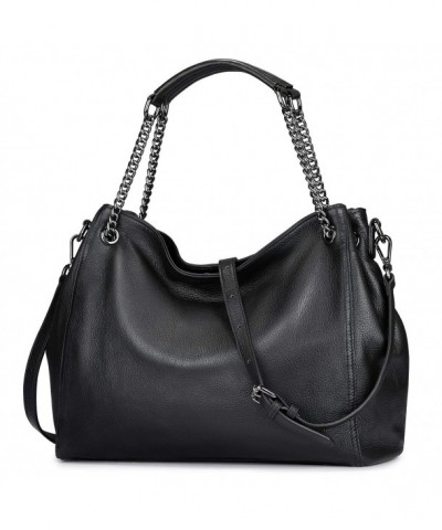 S ZONE Leather Shoulder Ladies Casual