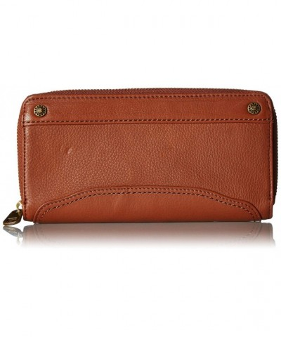 Sak Womens Around Wallet Cognac