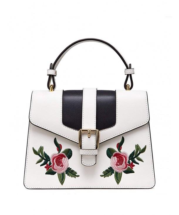 LAFESTIN Crossbody Handbags Embroidered Shoulder