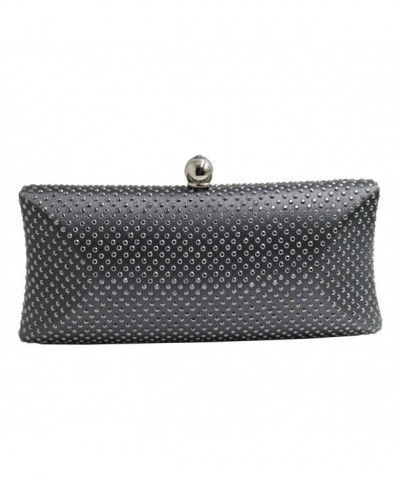 DMIX Womens Rhinestone Clutches Evening