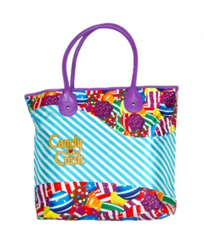Candy Crush Pink Blue Tote