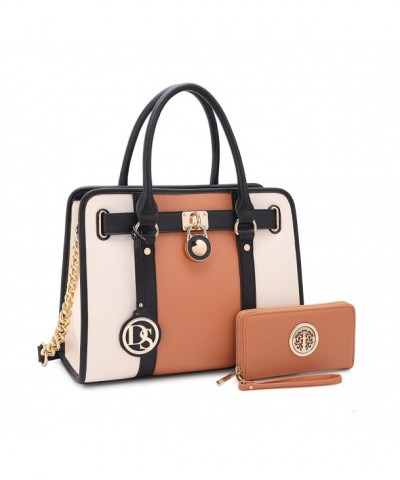 Pockets Satchel Designer Purses Briefcase