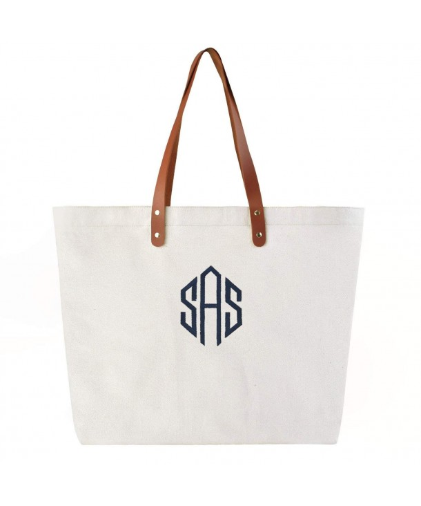 PERSONALIZED Monogram Embroidery Shoulder Interior