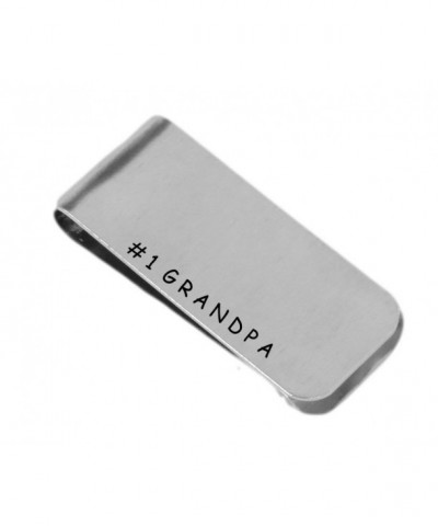 Grandpa Personalized Money Clip Aluminum