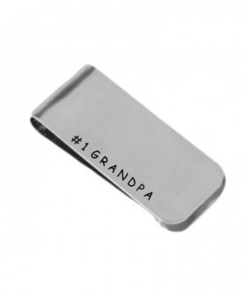 Grandpa Personalized Money Clip Aluminum