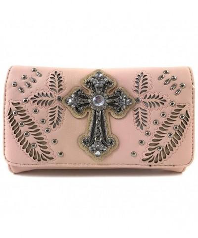 Justin West Western Rhinestone Handbag