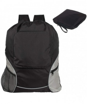 Teamoy Drawstring Backpack Foldaway Lightweight
