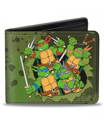Buckle Down Bifold Wallet Ninja Turtles