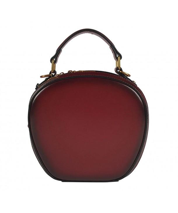 QueenGlobal Vintage Genuine Handbags Crossbody