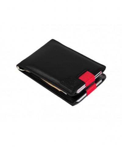 Blocking Bifold Leather Minimalist Wallets