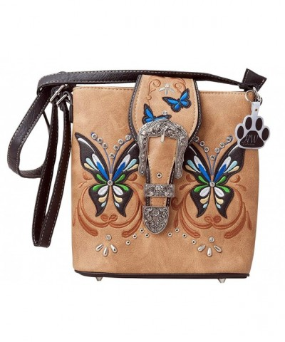 HW Collection Butterfly Concealed Crossbody