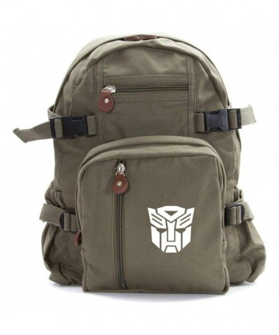 Autobot Transformers Heavyweight Canvas Backpack