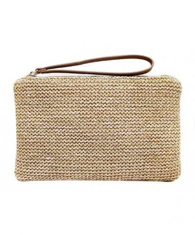 Hycurey Zipper Bohemian Wristlet Handbag
