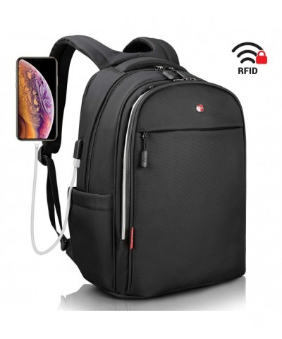 Laptop Backpack Anti Theft black