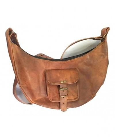 Genuine Leather Shoulder Vintage Shopping