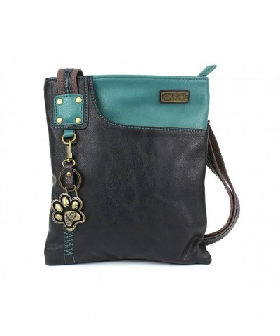 Chala Crossbody Leather Turtle Dragonfly