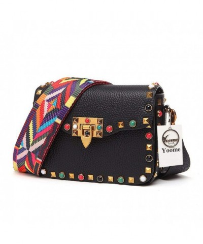 Crossbody Designer Colorful Cowhide Shoulder