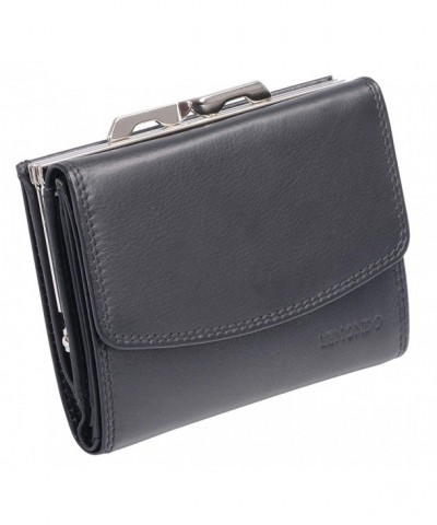 Avanco Womens Leather Purse Black