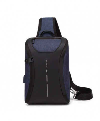 Resistant Shoulder Backpacks Crossbody Multipurpose