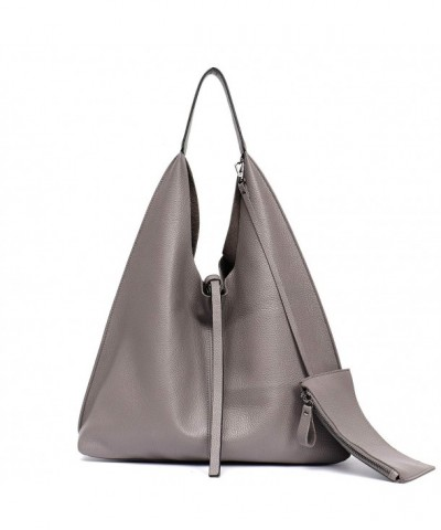 STEPHIECATH Genuine Leather Shoulder Slouchy