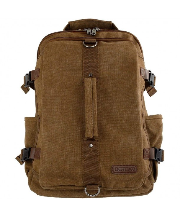 Odyseaco Montera Vintage Canvas Backpack