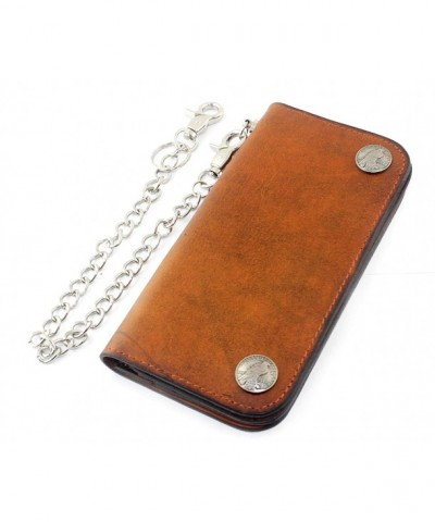 Vintage Biker Full Grain Leather Wallet