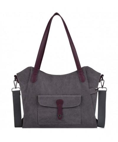 COOFIT Canvas Handbag Shoulder Handbags